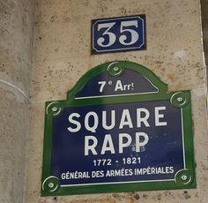square Rapp - Paris 7e
