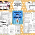2nd Quarter Math Homework / Morning WorkThis set contains 10 weeks of Common Core Math work that can be used for homework or morning work. Each w...