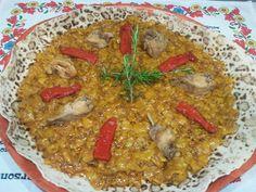 Gazpachos Manchegos   Las Delicias de Isabel Gazpacho Manchego, Curry, Ethnic Recipes, Food, One Pot Dinners, Cooking Recipes, Ethnic Food, Curries, Essen