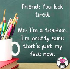 """Teacher_Meme_Tired meme tired 30 Back-to-School Memes for Teachers That Will Have You Saying """"Same"""" Quotes About New Year, Year Quotes, Teacher Humour, Teacher Stuff, Funny Teacher Memes, Teacher Tired, Bad Teacher, Teaching Memes, Teaching Resources"""