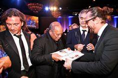 Launch of the Andrea Bocelli Foundation: Quincy Jones & Andrea Bocelli