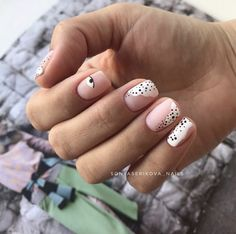 80 ideas to create the best Halloween nail decoration - My Nails Minimalist Nails, Gorgeous Nails, Pretty Nails, Nail Art Cute, Manicure Gel, Shellac, Ten Nails, Nagel Gel, Stylish Nails