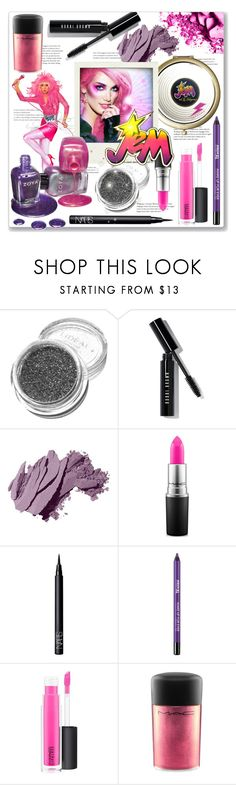 """""""Jem Beauty"""" by leanne-mcclean ❤ liked on Polyvore featuring beauty, Bobbi Brown Cosmetics, JEM, MAC Cosmetics, NARS Cosmetics, MAKE UP FOR EVER and Zoya"""