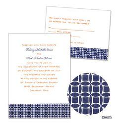 Zoe Wedding Invitations by MyGatsby.com