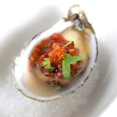 How dreamy is this Thai style oyster ceviche? Seafood Ceviche, Thai Style, Oysters, Ethnic Recipes, Thai Decor