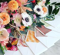 Find your invitation inspiration with a little help from Wedding Paper Divas' gorgeous Instagram account! http://www.stylemepretty.com/2016/04/06/get-inspired-with-our-fave-instagrams-from-wedding-paper-divas/