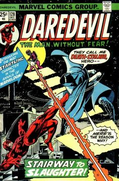 Daredevil # 128 by Gil Kane & Klaus Janson