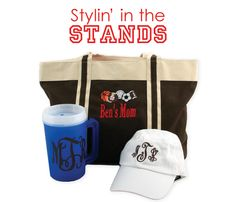 Perfect for those long, hot days in the stands! www.initialoutfitters.net/cheryl215