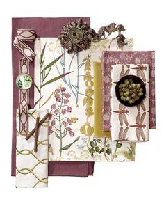 Botanical Garden Fabric Collection. Image: Calico Corners. #fabric #inspiration…