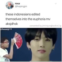Those editing skills are on point👌 😂 This is too funny lmao 🤣 - Bts Memes S Videos, Bts Funny Videos, Bts Memes Hilarious, K Pop, Editing Skills, Les Bts, Bts Tweet, Namjin, Bts Edits
