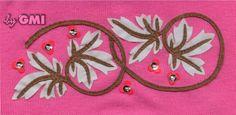 Laser #embroidery: ricamo e taglio laser. Realizzato con GMI laser III