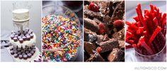 Dessert bar instead of cake for wedding | Prairie Production Wedding Photos | Chicago Wedding Photographer | Jill Tiongco Photography