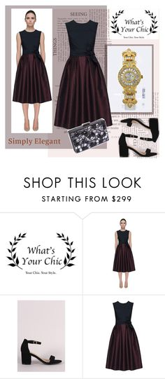 """""""WhatsYourChic  outfit - 7"""" by jnatasa ❤ liked on Polyvore featuring Claudette and vintage"""