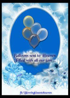 Sending Balloons To Heaven Filed With Love My Angel Birthday Prayer