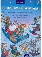 BLACKWELL K.and D. - FLUTE TIME CHRISTMAS A stocking ful of 32 easy pieces for flute - € 14,35Fluit kerst, Fluit solo + CD, OXFORD 9780193379275
