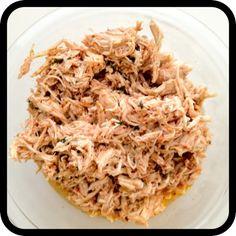 All-In-One Shredded Chicken  Super Simple Crockpot recipe