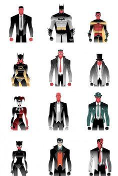 Dan Mora Interactive Batcave Art - Batman's 75th anniversary