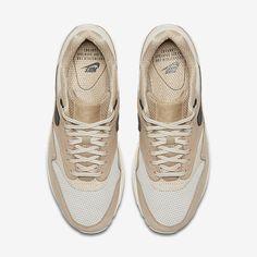 newest c55c2 c93f7 Chaussure Nike Air Max 1 Pas Cher Femme Pinnacle Champignon Beige Clair  Flocons Davoine Noir