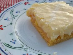 Gooey Cake.  A super rich cake that starts with a yellow cake mix and ends with an irresistible dessert.