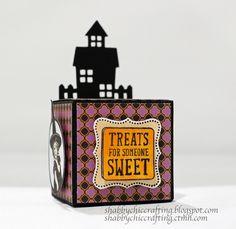 #CTMH #Close to My Heart Scaredy Cat Halloween Treat Box Workshop #CTMHcreate