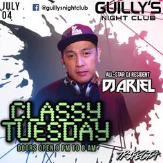 "We Keep it Classy! Here @ your #No1ClubUpNorth #GuillysNightclub we got ""Classy Tuesday"" Tonight we have DJ Ariel Liberato on Primetime plus MC Gino of Manila Hypin together with VOGUE STAR Dancers Mylene and Janice! **Free Access** #ClassyTuesday"