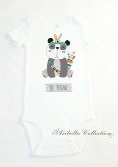 Carter's Personalized Bodysuit - Panda
