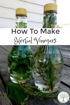 I love making herbal vinegars for that reason. They are so easy to make, and add an extra boost of flavor. Are you ready to make your own herbal vinegar? The Homesteading Hippy via /homesteadhippy/ Flavored Oils, Infused Oils, Healing Herbs, Canning Recipes, Herbal Remedies, Health Remedies, Kraut, Real Food Recipes, Delicious Recipes