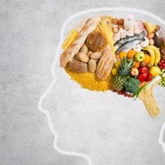 Here's some food for thought. You can slow down your brain's aging process by eating the right kind of foods. Here is a list of 6 of the best foods for your brain that can keep Alzheimer's, dementia and memory loss at bay. Food For Thought, Think Food, Healthy Brain, Brain Health, Gut Brain, Adhd Brain, Healthy Heart, Stay Healthy, Dieta Mind