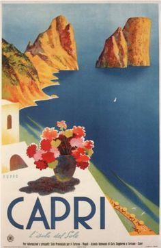 61X91.5cm Tahitian Sunset Palm Trees Beach Ocean Art Poster Print 24X36