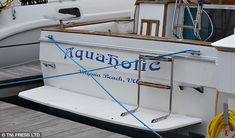 Hilarious pictures show the wittiest boat names out there Funny Boat Names, Best Entrepreneur Quotes, Big Deck, Boat Humor, Florida Holiday, Boat Wraps, Charter Boat, Water Crafts, Boats