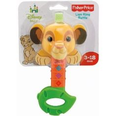 Fisher-Price Disney Baby Lion King Rattle