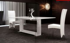 Modloft Astor Extendable Dining Table   MD520 | Grinneel Terrace |  Pinterest | Chrome, Modern And Room