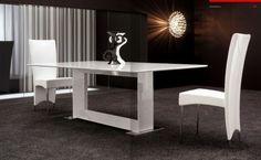 Modloft Astor Extendable Dining Table   MD520 | Grinneel Terrace |  Pinterest | Chrome, Modern And Room