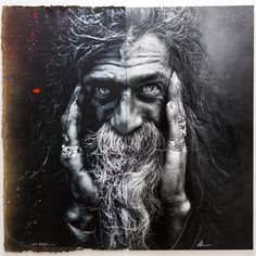 "Exposition ""Synergy"" à la galerie Mathgoth, mars 2015 - Jeff Aerosol & Lee Jeffries -"
