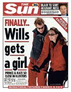 William and Kate, April 2004