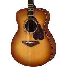 YamahaFS700S Solid Top Concert Acoustic GuitarTobacco Sunburst