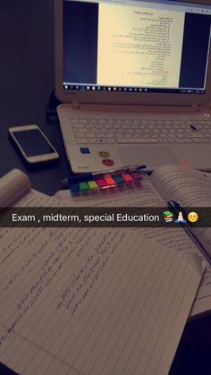 Tomorrow is  my second midterm exam .. Special education ❤️