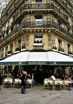 les deux magots, où aller diner ou boir du café à paris