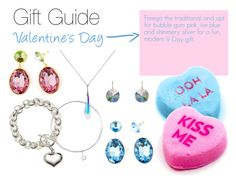 Valentine's Gift Guide: Modern by irockjewellery on Polyvore #giftguide #jewelry #valentinesday