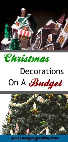 Ways to afford Christmas decorations this year without breaking the bank. #Christmas #Christmas decorations #Savingmoney #budgetChristmas
