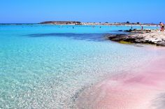 Elafonisi, Crete - Greek Islands- Miss this pink beach.