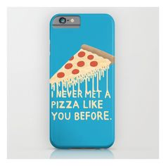 Sweet Pizza iPhone 6s Case ($35) ❤ liked on Polyvore featuring accessories, tech accessories and iphone & ipod cases