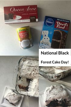 National Black Forest Cake Day!