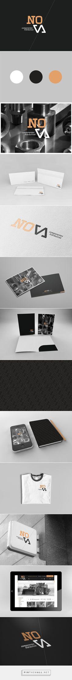 Nova Corporate Identity on Behance | Fivestar Branding – Design and Branding Agency & Inspiration Gallery