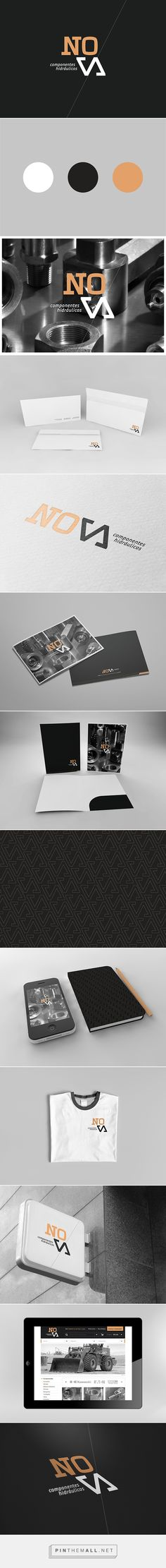 Nova Corporate Identity on Behance | Fivestar Branding – Design and Branding Agency & Inspiration Gallery