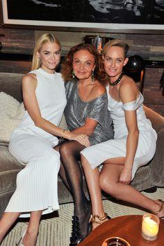 Jaime King, Diane von Furstenberg, and Amber Valletta at the 2014 CFDA/Vogue Fashion Fund Dinner