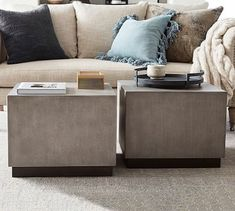 Byron Square Coffee Table #potterybarn