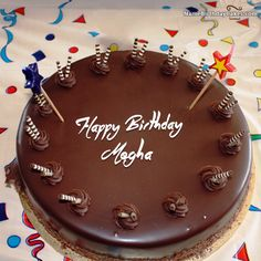 Cake Images With Name Megha : Islamic Birthday Wishes Birthday wishes, Birthdays and ...