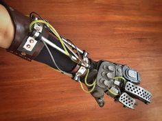 Imperator Furiosa Bionic Arm Cosplay Leather by MerchantHeroes