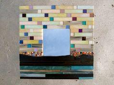 Unique Handmade Mosaic MirrorGifts for by SecondFloorMosaics, $135.00